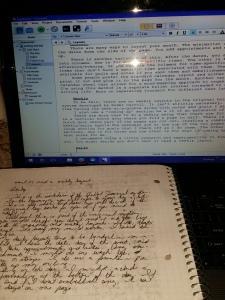 notebookandscreen